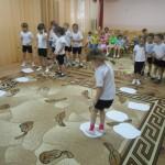 Соревнования дошкольники